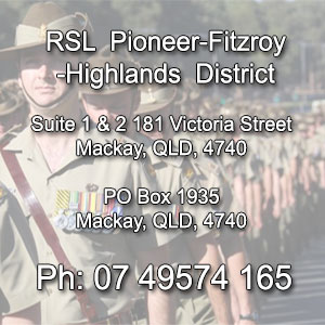 Contact details RSL Pioneer Fitzroy Highlands District Branch - Central Queensland