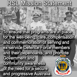 Mission Statement RSL Pioneer Fitzroy Highlands District Branch
